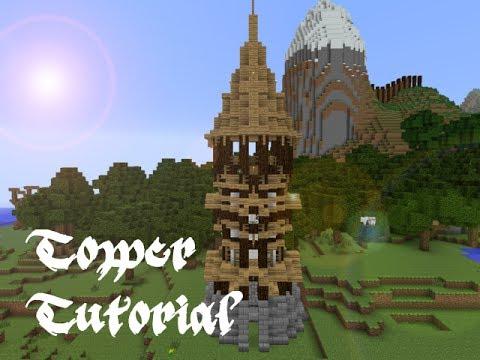 Minecraft Terracotta Tower Novocom Top