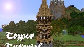 Minecraft tower tutorial