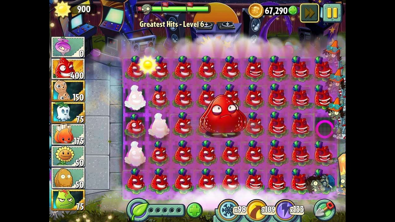 Plants vs Zombies 2 Greatest Hits Epic Hack