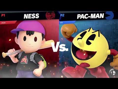 PsideB (Ness) vs KrytponKisses (DK, Pac Man) - Winners Final - Harvest Smash 22