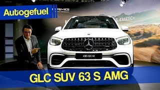 Mercedes GLC 63S AMG SUV REVIEW Exterior Interior Facelift 2020