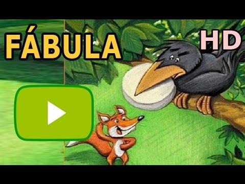 El Zorro Y El Cuervo Fábulas De Esopo