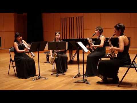 Ensemble Rayuela - Claude Debussy - Quatuor à cordes en sol mineur op.10 Part 1