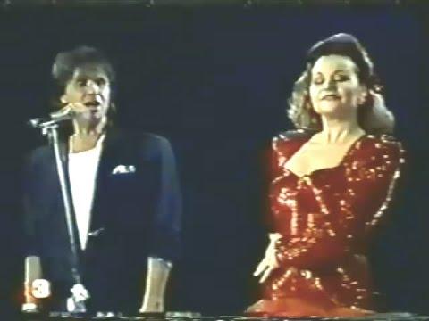 Roberto Carlos - Si Piensas...Se Quieres - Dueto 1991