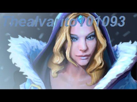 Dota 2 - Cristal Maiden Partida comentada
