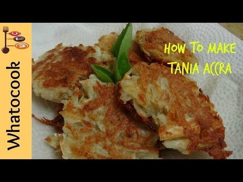 How To Make Trinidad Tannia Accra