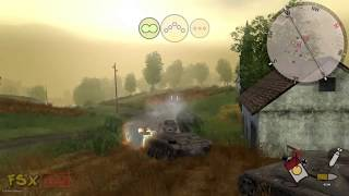 Panzer Elite Action - Fields of Glory INTRO & GAMEPLAY  HD