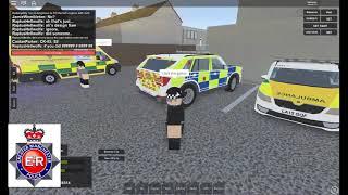 Roblox-Regno Unito GMP Eastbrook Mobile unità pattuglia-fuoco armi!