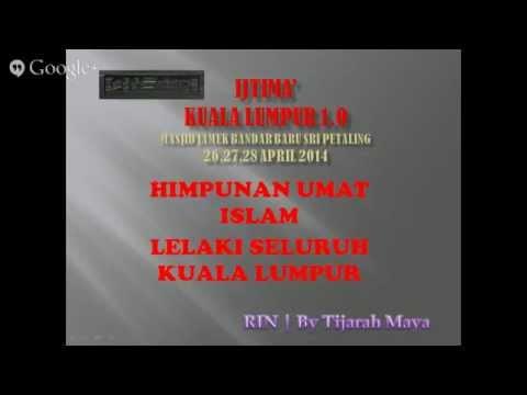 Radio Islam Nusantara | Bayan Zohor 27/4 LIVE IJTIMAK KUALA LUMPUR 1.0 by TIJARAHMAYA
