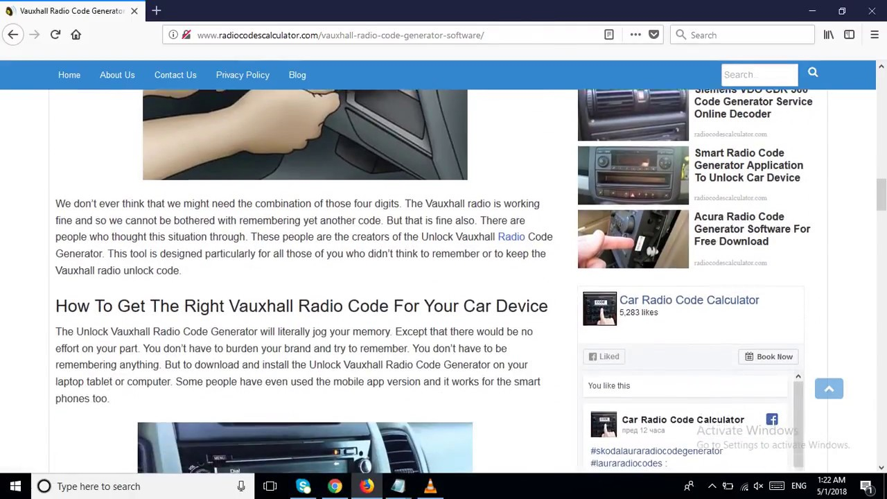 Vauxhall Radio Code Generator Software For Free Downloading On PC