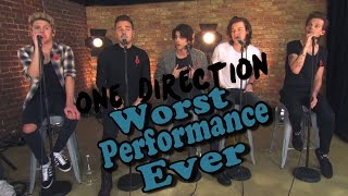 One Direction - Worst Performance Ever - Steal My Girl - Shreds
