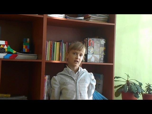 Изображение предпросмотра прочтения – МарияСизанова читает произведение «Ворона и Лисица» И.А.Крылова