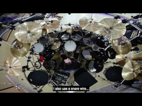 Aquiles Priester talking about Triggers, Tuning and Exercises - HD 2016