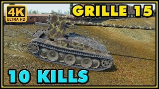 World of Tanks | Grille 15 - 10 Kills - 10,2K Damage Gameplay