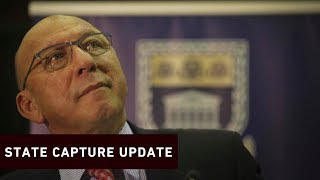 Former Finance Minister Trevor Manuel gave evidence on how Fikile Mbalula allegedly told the ANC NEC that Atul Gupta informed him he would be appointed sports minister in 2010.