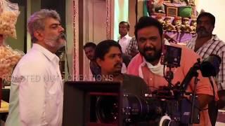 Viswasam movie making AJITH portion | AJITHKUMAR |
