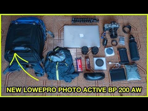 ZAINO - LOWEPRO PHOTO ACTIVE BP 200 AW - Recensione