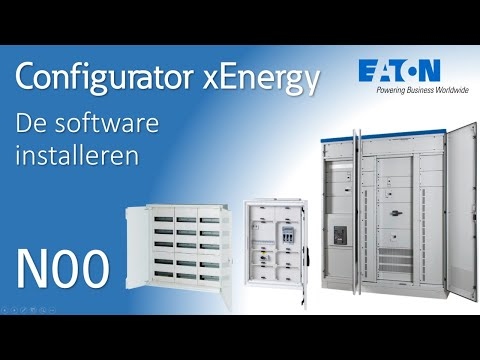 Eaton xEnergy Configurator - de software installeren (NL)