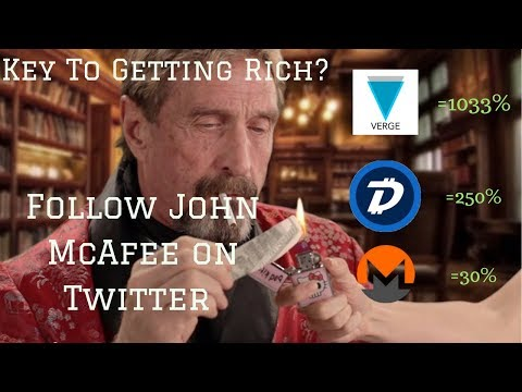 John McAfee Is About to Make Us Crypto Millionaires. (SERIOUSLY)