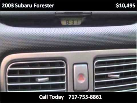 2003 Subaru Forester Used Cars York PA