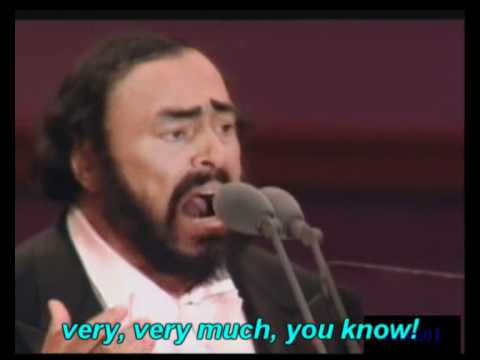 Pavarotti  Caruso english subtitles