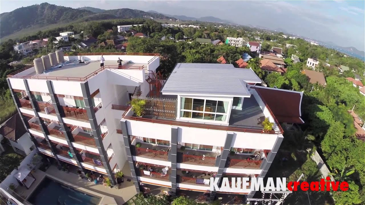 Aerial Shots of Sinbi Apartments