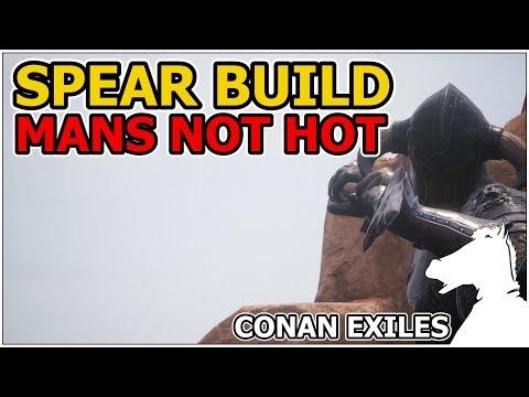SPEAR BUILD Or The Silent Legion Spearman! | CONAN EXILES