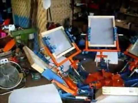 mesin sablon manual