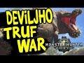 Monster Hunter: World - New Turf War DEVILJHO Vs BAZELGEUSE / MHW All Turf Wars