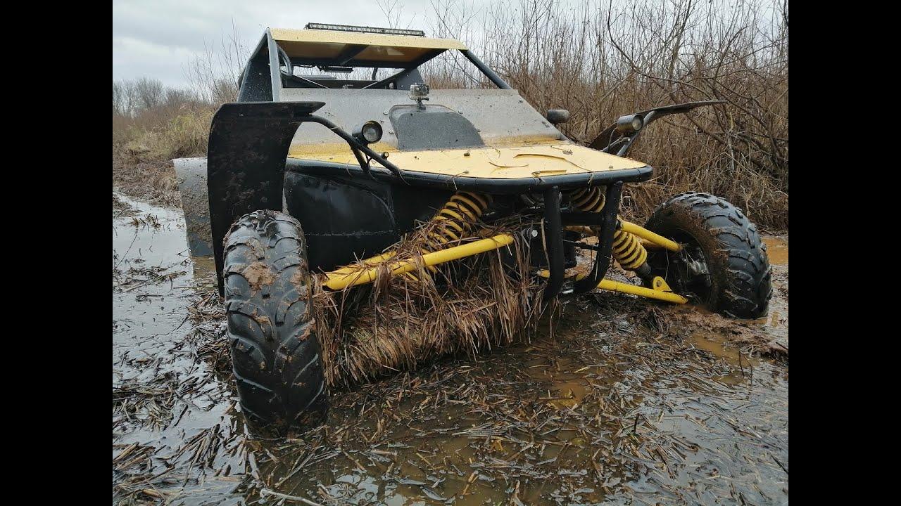 Багги БЕРКУТ. Опять полез в болото.
