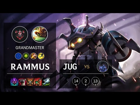 Rammus Jungle vs Sylas - EUW Grandmaster Patch 10.18