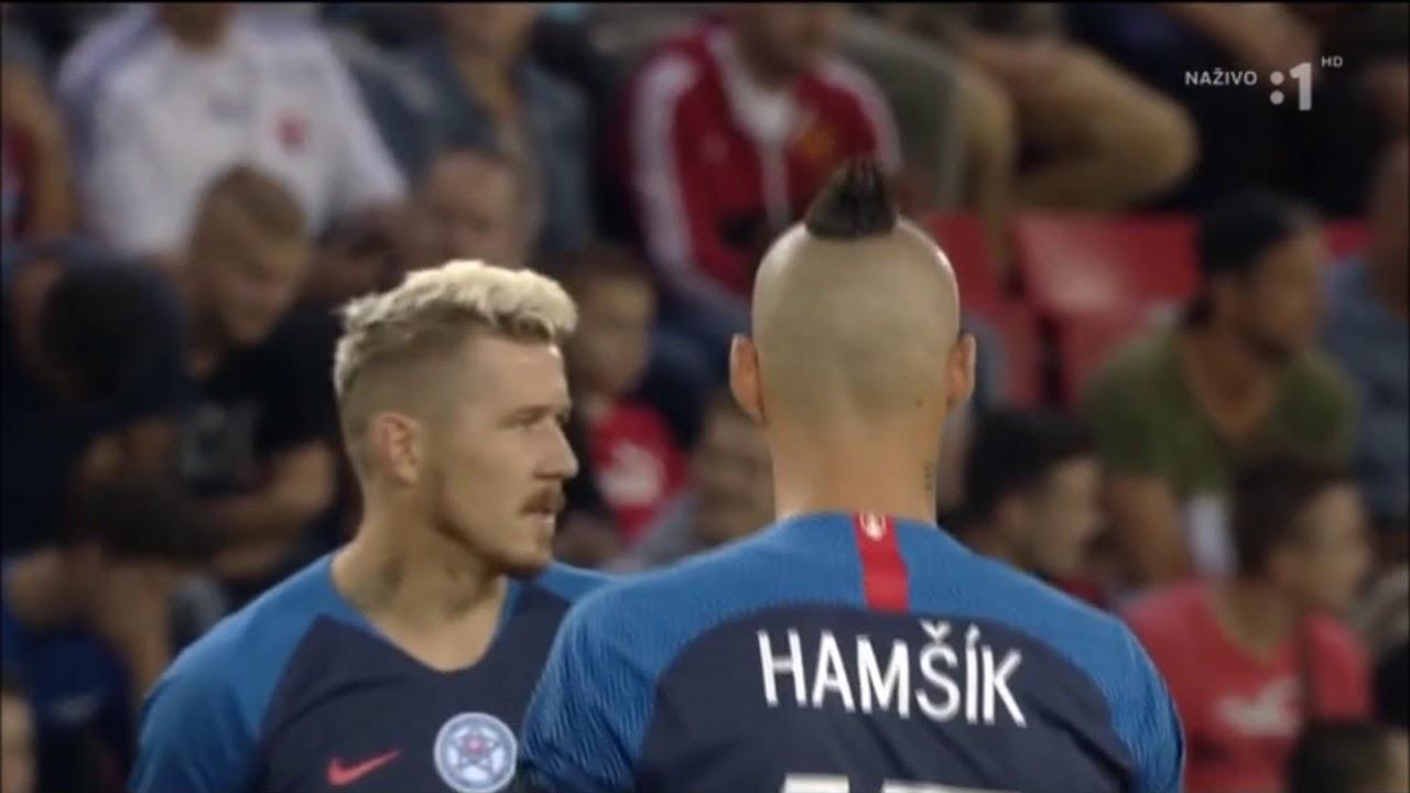 Freundschaftsspiel Slowakei - Dänemark 3:0