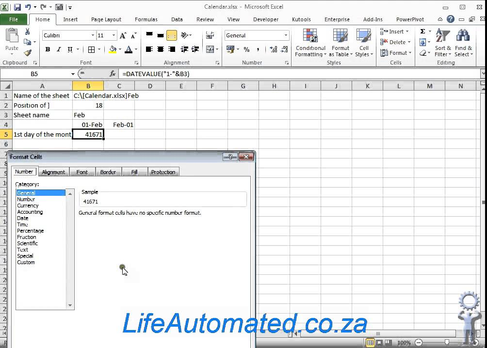 Automatically generate dates per month based on excel sheet names – Excel Worksheet Name