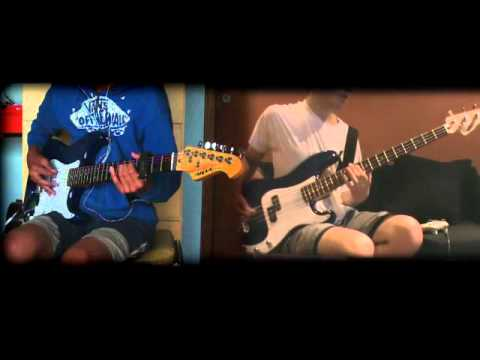 Restless Heart Syndrome - Green Day - Collaborative cover (guitar - bass)