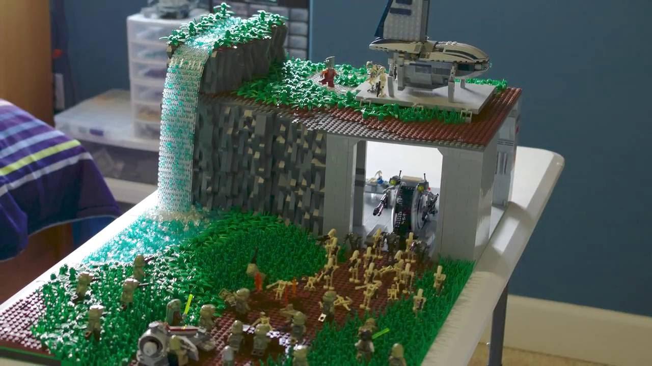Lego star war droid base on cardia youtube - Lego star wars base droide ...