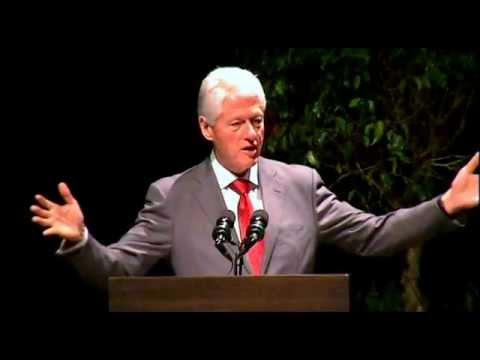 President Bill Clinton's Speech at Economic Summit with Mayor Alvin Brown