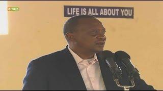 VIDEO:Kenyatta cautions politicians over divisive politics