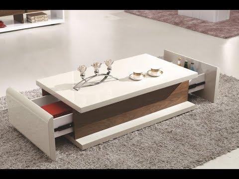 desain meja ruang tamu unik dan cantik - youtube