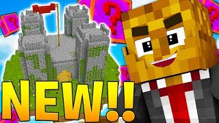 MINECRAFT GLITE LUCKY BLOCK SKYWARS! - MINECRAFT MODDED MINIGAME