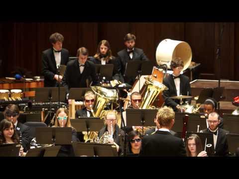 Godzilla Eats Las Vegas! Eric Whitacre, Detroit Symphony Civic Wind Ensemble, 3/6/2014