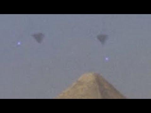 EGYPT 2017 UFO FLEET over GIZA PYRAMIDS ! Latest Alien Sightings Best UFO Sighting Ever