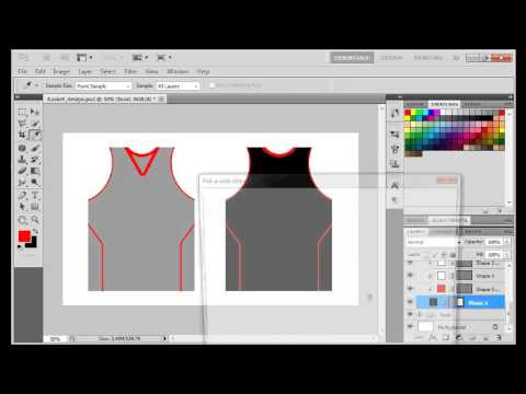 Ps Vid Making Your Own Basketball Jersey Design Youtube