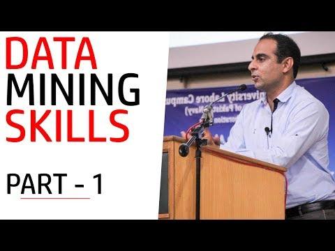 Data Mining: Mastering Data Mining Skills | Part - 1