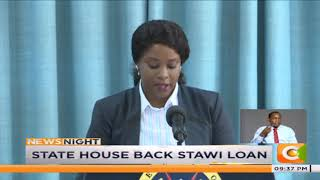 State house back stawi loan