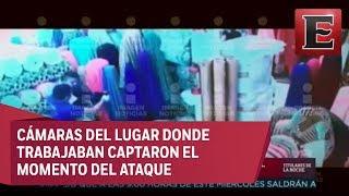 Fuertes imágenes: cámaras graban ataque a Jazmín Contreras