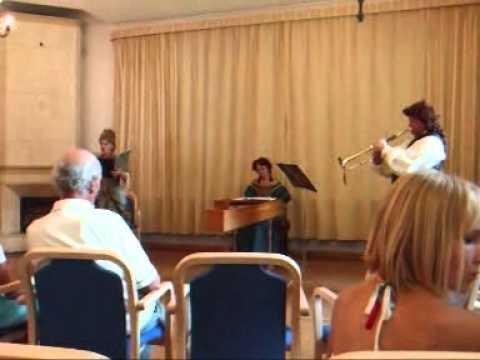 Tallinn Baroque - Handel hunting cantate in hof new-Harm, Harrien, Estland
