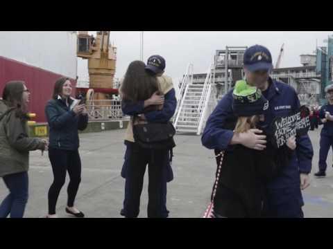 Seattle-based Coast Guard Polar icebreaker returns home following Antarctic mission