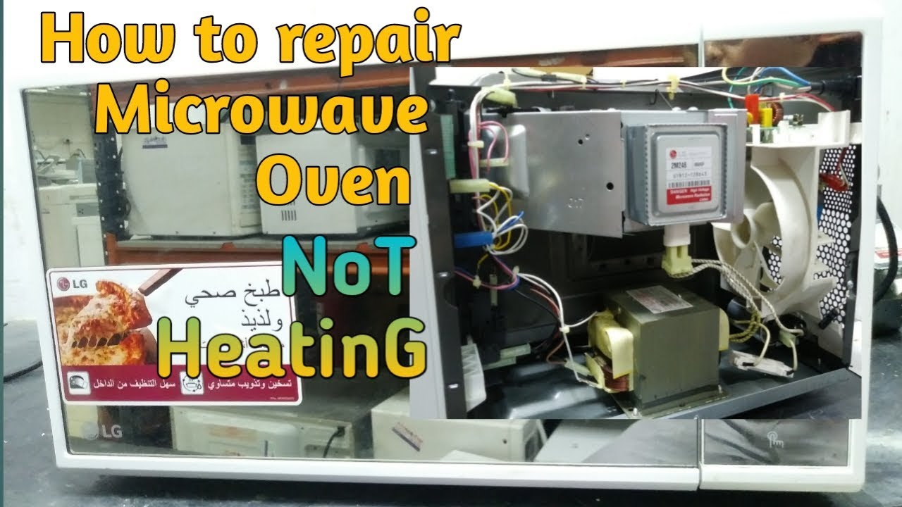 how to repair microwave oven not heating tagalog