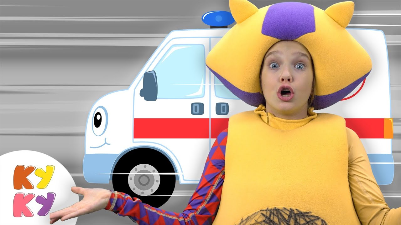 Машинки спасатели - Кукутики - Песенка мультик для детей малышей