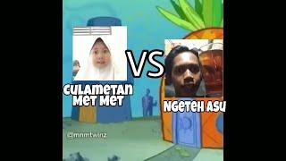 Download lagu Culametan Met Met Vs Ngeteh Asu (Spongebob Version)